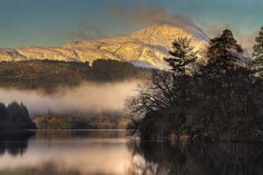 Dawn at Loch Ard in the Loch Lomond & the Trossachs National Park, Stirling District, Scotland. Credit: Karl Williams