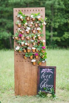 Our Wooden Pegboard stuns as a sweet favor display at this workshop by Katelyn James! Florals by Amanda Veronee. Planning by Ashlee Virginia Events