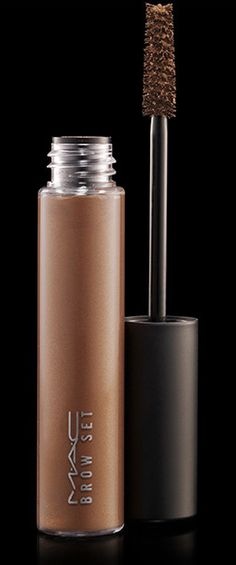MAC Brow Set, Beguile. Can be used as mascara as well. Nice light colour for a natural look for those with very fair skin and light golden/strawberry blonde hair.