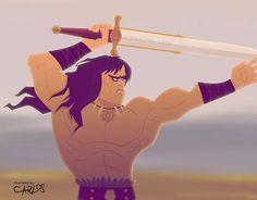 "Check out new work on my @Behance portfolio: ""Conan Cartoon Style"" http://be.net/gallery/49052847/Conan-Cartoon-Style"