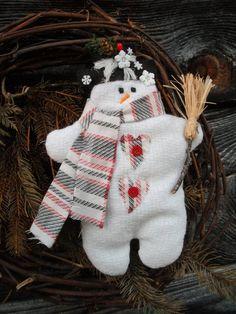 Traditional Snowman Christmas Decoration Snowman Christmas Decorations Christmas Ornament Crafts Snowman Crafts