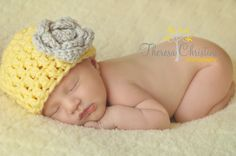Newborn baby girl photography