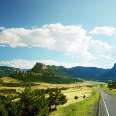 Amazing Yellowstone Road Trip: The Chief Joseph Scenic Byway winds through the Rockies northwest of Cody, WY.