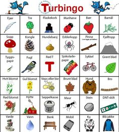 Turbingo - fun activity for spring Spring Activities, Activities For Kids, Bingo, Maths For Beginners, Teaching Kids, Kids Learning, Outdoor School, Forest School, Exercise For Kids