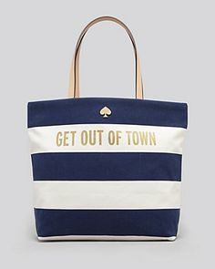 kate spade new york Tote - Get Out Of Town Bon Shopper | Bloomingdale's