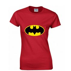 Batman Fashion Print 100% Cotton Women's T-shirt