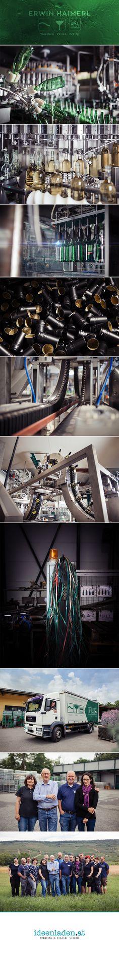 Fotografie der Flaschenservice  Erwin Haimerl GmbH in Langenlois, NÖ Hai, Studio, Music Instruments, Flasks, Projects, Studios, Musical Instruments