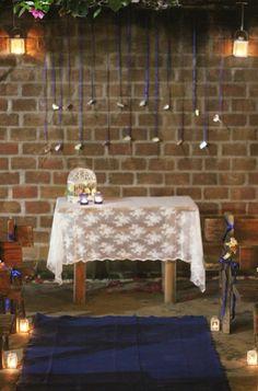 Mini wedding, mini casamento, rustico, rustic, azul, blue, decoraçao, decor.