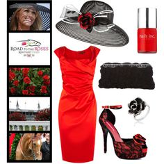 derby day: love the hat, nix the rose on it