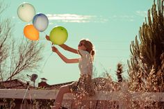 Vintage + Balloons, oh love