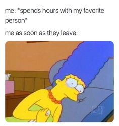 "65 Funny Dating Memes - ""Me: spends hours with my favorite person. Me as soon as they leave:"" 65 Funny Dating Memes - ""Me: spends hours with my favorite person. Me as soon as they leave:"" Funny Relatable Memes, Funny Jokes, Hilarious, Love Memes Funny, Relatable Posts, Funny Fails, Funny Shit, Best Memes, Dankest Memes"