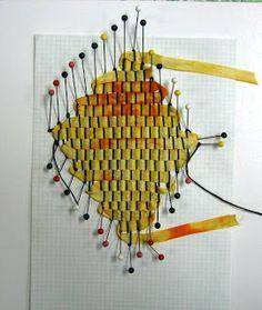 In Good Company: October Tart Kit: Pin Weaving