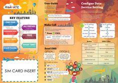 Graphic Design, SIM Card, Leaflet - Design by sharonheow@gmail.com