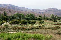 Uquía es un oasis en la puna jujeña, que te pasea del verde al azul, de la fertilidad a la aridez, de la tierra al cielo.