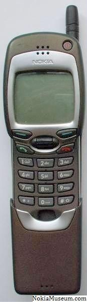 Nokia 7110. I had this when I was 16. My Dad still uses it! T