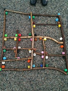 I'm a teacher, get me OUTSIDE here!: Outdoor Maths: investigating right angles with sticks