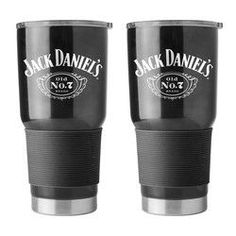 Jack Daniels Travel Tumbler - 30 oz Ultra - Black