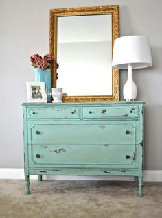 shabby chic single dresser...