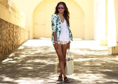 Spring weekend casual chic