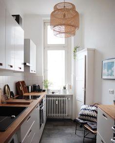 Entzuckend At/least | Kleine Räume Einrichten: 5 Tricks Für Die Mini Küche | Apartment  Life | Pinterest | Kitchens, Interiors And Apartments