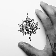 Image result for lotus hand tapped tattoo