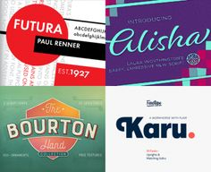 The Influential Font Lover's Library - Design Cuts Design Cuts