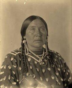 Angela Blackhawk - Crow - circa 1905