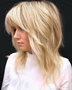 Cute Medium Length Hairstyles, Medium Shag Haircuts, Haircuts For Fine Hair, Haircut For Thick Hair, Shag Hairstyles, Hairstyles With Bangs, Shaggy Haircuts, Thick Haircuts, Hairstyle Men