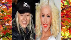Famosas con y sin maquillaje/photoshop / Celebrities with and without ma...