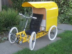 Home built Quad - Endless Sphere Bike Cart, Adult Tricycle, Electric Tricycle, Car Jokes, Custom Trikes, Motorcycle Camping, Bike Pedals, Cargo Bike, Pedal Cars