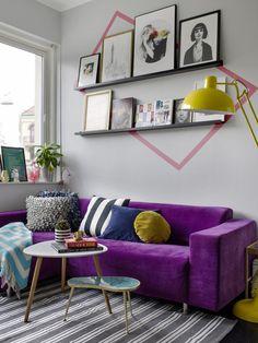 Casinha colorida: Salas de estar: inspirações para o Verão
