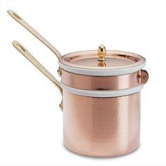 Mauviel Copper 1 3/4-Qt. Double Boiler