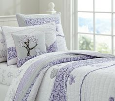 Bailey Quilted Bedding   Pottery Barn Kids  Mischa's bedding choice.