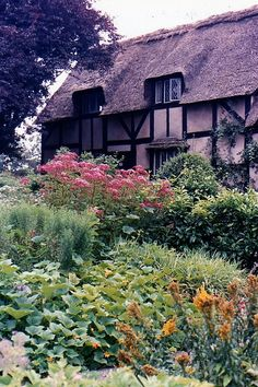 anne hathaway's cottage revisited, victoria, b.c. by rosanne maccormick-keen, via Flickr