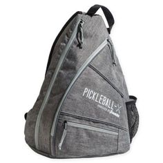 Franklin Sports Pickleball X-Elite Performance Sling Bag In Grey Discount  Coupons 524e2a1d6b0e1