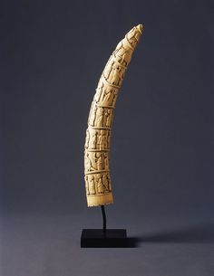 Finch & Co - Finely carved Loango Ivory Tusk ( only 1 remaining )