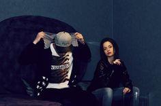 goldie crewneck & allstar hoodie