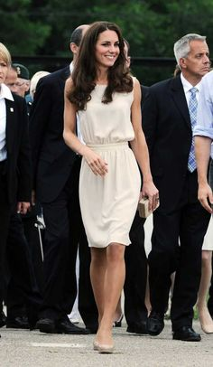 Joseph when she went to the Epsom Derby last month. Kate accessorized the dress with champagne heels, a staple LK Bennett Natalie Clutch
