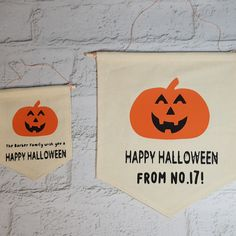 Personalised Halloween Banners are a lovely addition to your Halloween decor! They are great to hang in your window for the children on a pumpkin scavenger hunt too! Halloween Banner, Halloween Make, Halloween Pumpkins, Halloween Decorations, Halloween Scavenger Hunt, Name Boxes, Pumpkin Pictures, Family Wishes, A Pumpkin