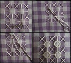 Chicken scratch is such a pretty type of embroidery. It is quick and a great way to decorate up that stash of gingham you have tucked away. ...