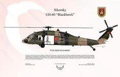 Sikorsky Digital Art - Sikorsky Uh-60 Blackhawk by Arthur Eggers