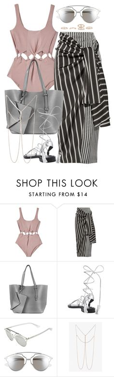 """""""Untitled #2380"""" by briarachele on Polyvore featuring Samantha Pleet, Joseph, Topshop, Christian Dior, Monki and New Look"""
