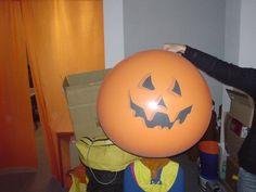 #Luftballon #Dekoration für verschiedene Anlässe #Halloween #balloon #pumpkin