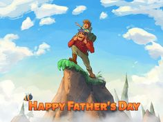 Father's Day is an extremely special day for all the children in the world. It is an opportunity to make your father feel truly special and loved. It is a day when you give credit to your dad for all that he has done for you, while not demanding anything in return. Happy Father's Day. <3  ‪#‎animationB2B‬ ‪#‎fathersday‬ ‪#‎design‬ ‪#‎graphic‬
