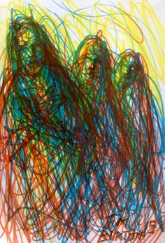 Sharpie Three Sisters study. Three Sisters, Sharpie, Running Shoes, Study, Drawings, Art, Runing Shoes, Art Background, Studio