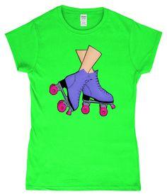 Funny, Rollerskating Ladies T-Shirt Inline Skating, Old Skool, Wheels, Old Things, Barbie, Heaven, Bring It On, Plastic, Doll