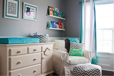 removable chevron wallpaper | The Shopping Mama » Five Budget Savvy Nursery & Toddler Room Trends