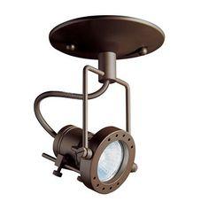 Kendal Lighting MPGU-4 Line Voltage Monopoint Directional Spot Light