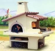 Znalezione obrazy dla zapytania outdoor fireplace with pizza oven