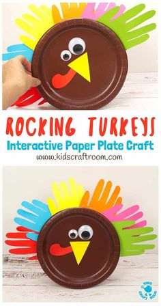 Start Out Your Very Own Sewing Company Looking For A Fun And Interactive Thanksgiving Craft For Toddlers And Preschoolers? This Rocking Paper Plate Turkey Craft Is Super Simple For Little Hands To Make And Play With. This Easy Thanksgiving Turkey Craft Is Thanksgiving Crafts For Toddlers, Thanksgiving Activities, Crafts For Kids To Make, Craft Activities For Kids, Preschool Crafts, Fall Crafts, Thanksgiving Turkey, Kids Crafts, Craft Ideas